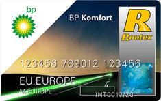 BP Komfort Tankpas
